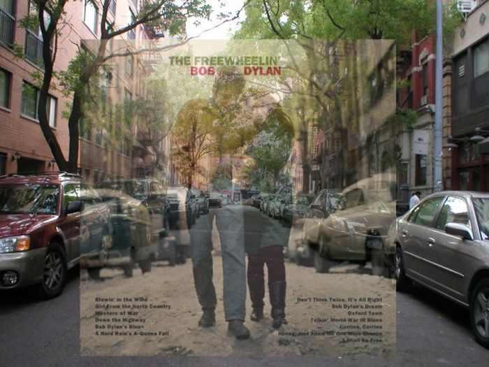 הרחובות מאחורי עטיפות האלבומים