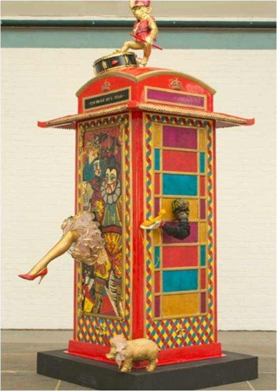 הטלפון האדום - תערוכה
