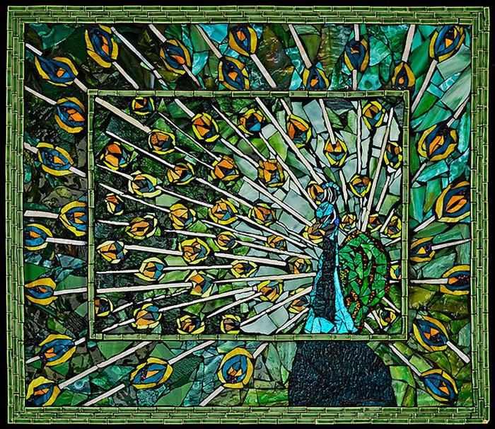 עבודות פסיפס מדהימות של לורה האריס
