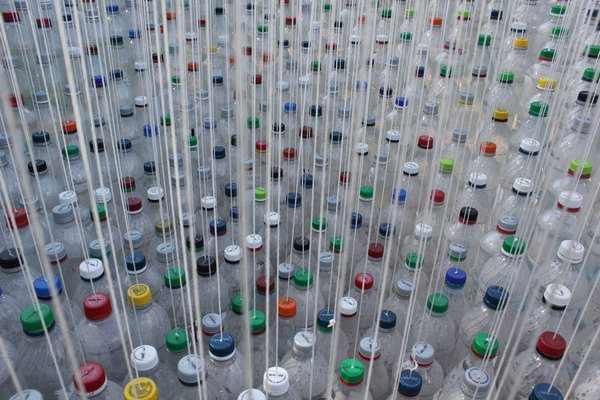 חופה של בקבוקים