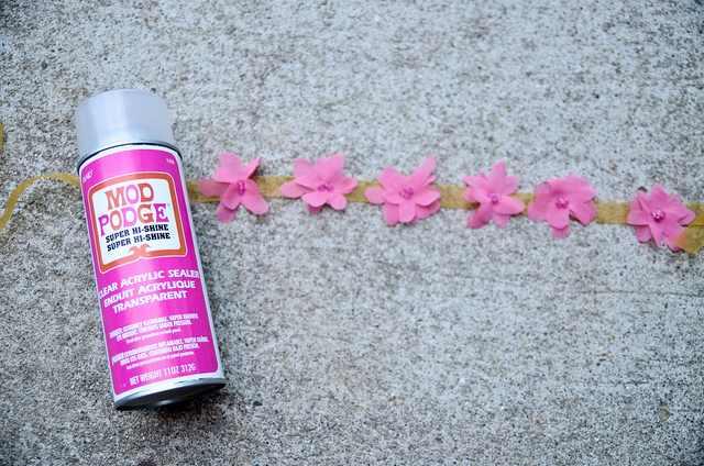 איך להכין צמיד פרח