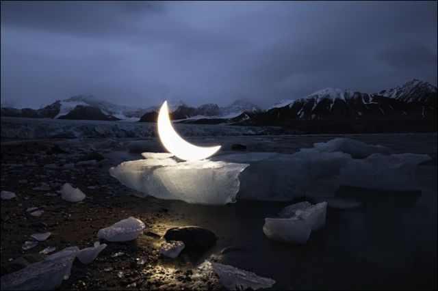 אמנות ירח