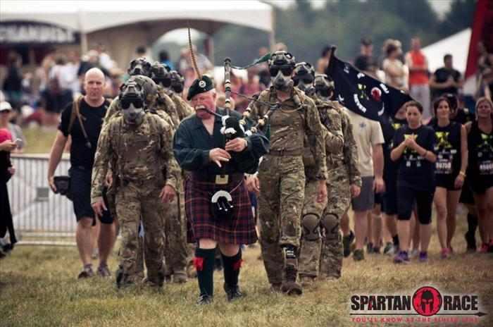 חייל נכה במסלול אימונים מפרך
