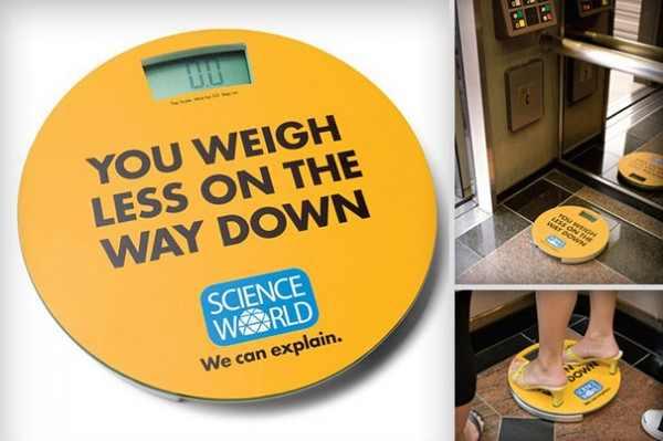 פרסומות מקוריות למוזיאון מדע