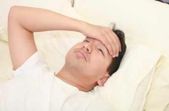 חולה במיטה
