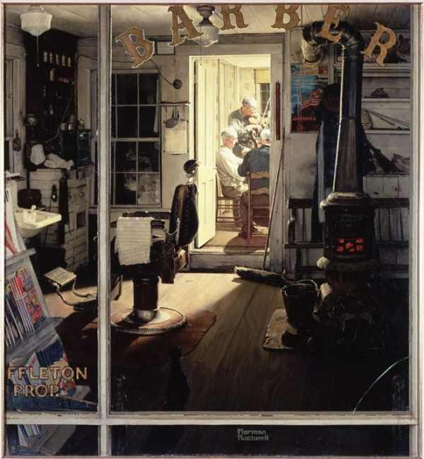 הציורים של נורמן רוקוול