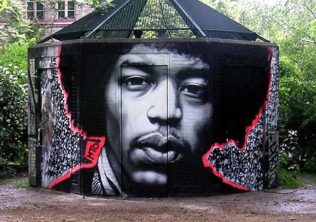 גרפיטי ואמנות רחוב בברלין