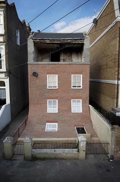 בית נטוש שהפך לפריט מעוצב