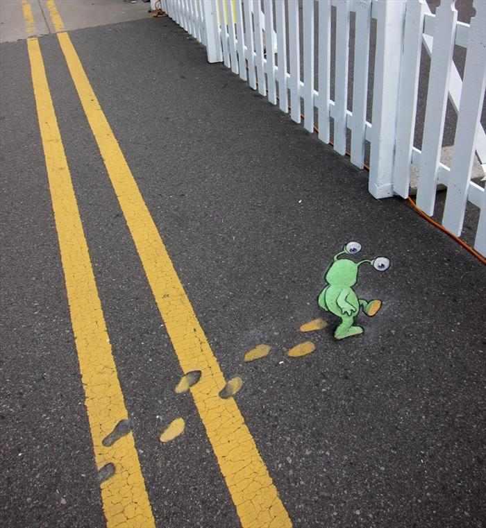 ציורי קירות - אמנות רחוב מדהימה
