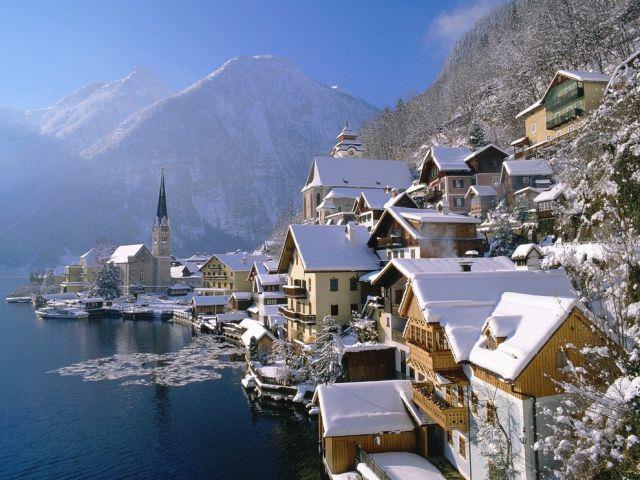 ערים יפות בחורף