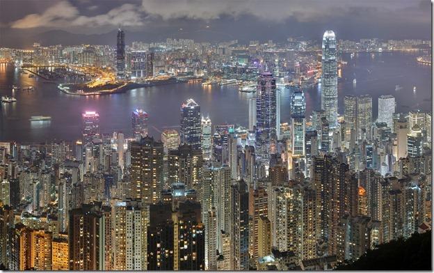 קווי רקיע של ערים שונות בעולם