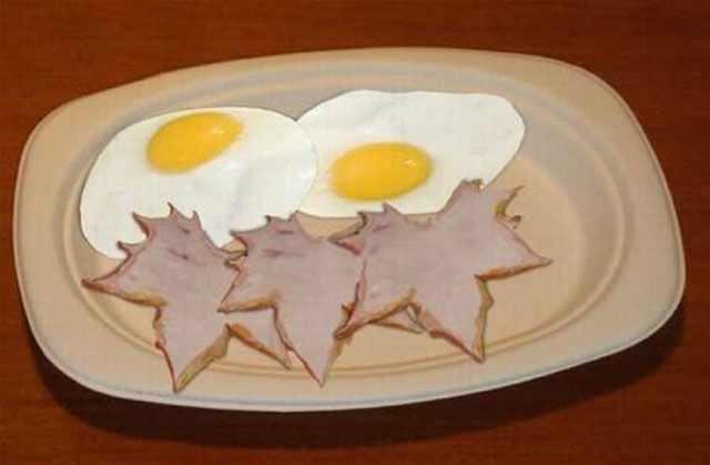 מאכלים בעיצובים מיוחדים