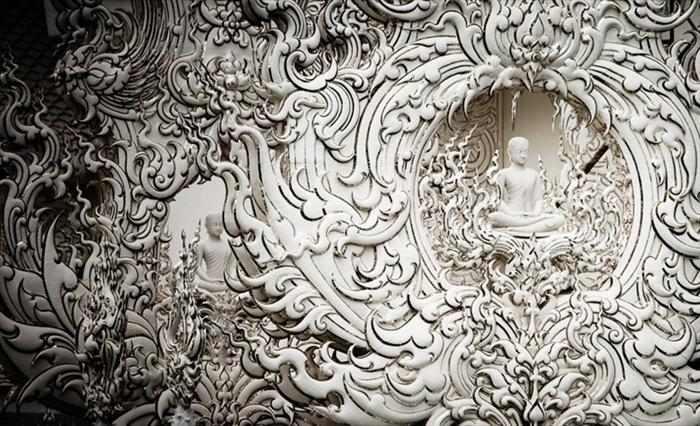 המקדש הלבן בתיאלנד