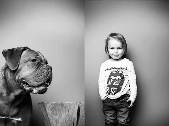 דיוקנאות של חיות ובני אדם