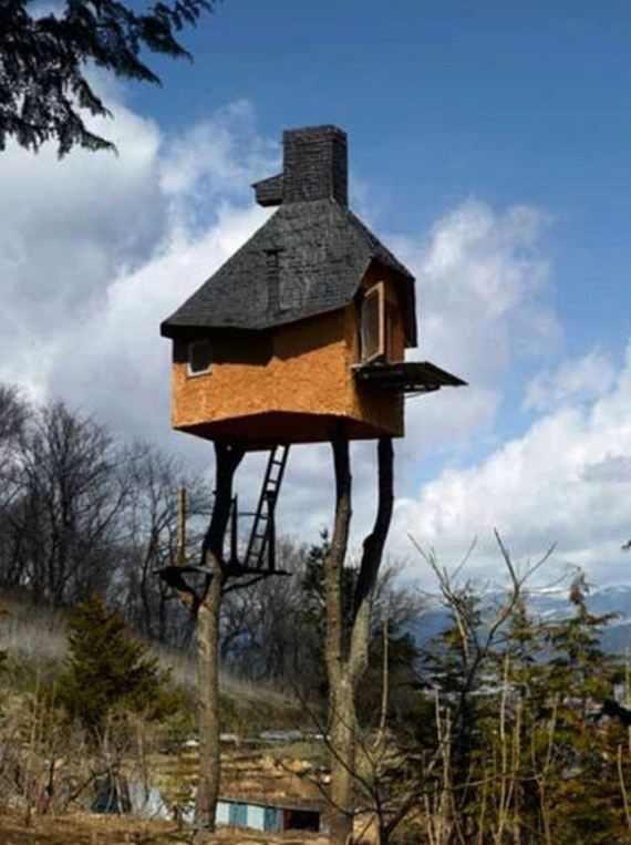 הבתים הכי מוזרים ומיוחדים בעולם!