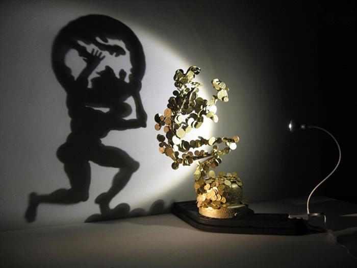 אמנות של אור וצל - פיסול מרהיב