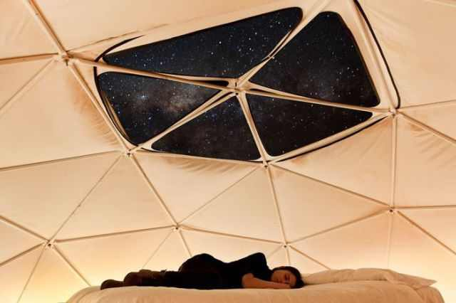 מלון בצ'ילה משולב במצפה כוכבים