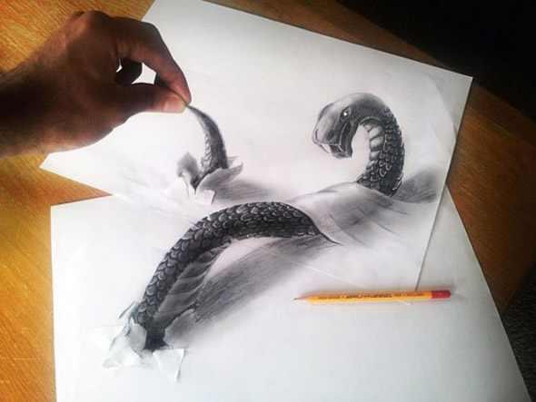 ציורים מדהימים בתלת מימד