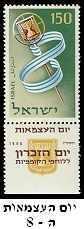 רגע של נוסטלגיה - בולים מימי העצמאות של ישראל!
