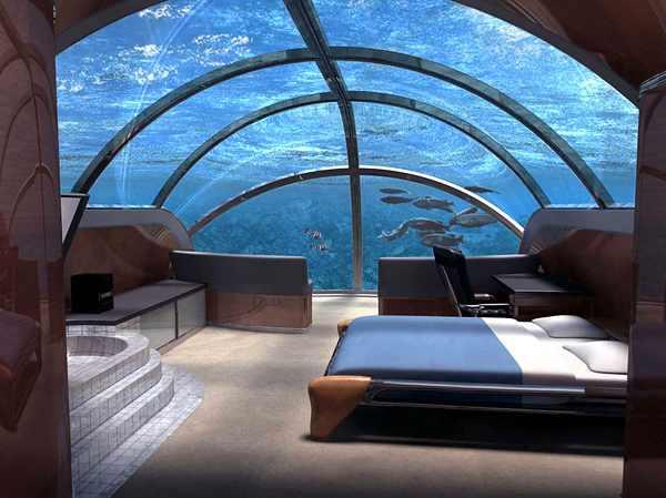 מלון יקרה תת ימי הראשון בעולם