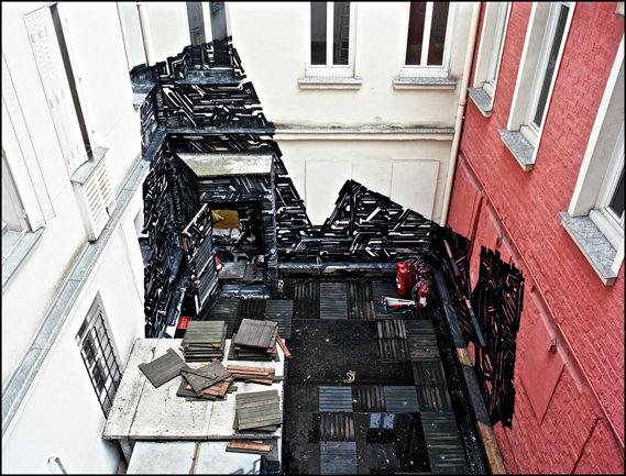 מועדון נטוש בפריז הופך לגלריה סודית