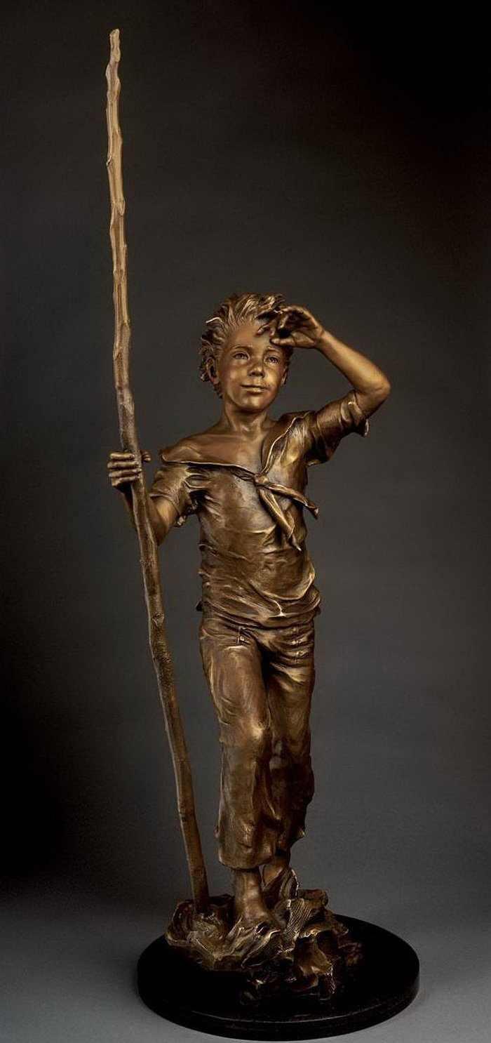 פסלי ברונזה של ילדים