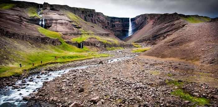 מסע שכולו מפלים באיסלנד