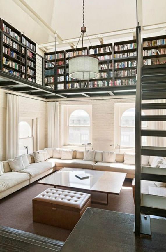 עיצובי בתים עם תקרות גבוהות