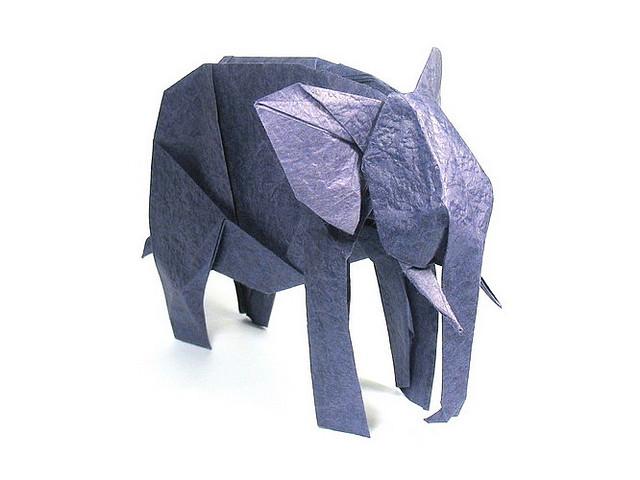 אוריגמי אמנות קיפולי הנייר