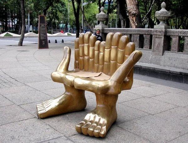 ספסלים בעיצובים מיוחדים