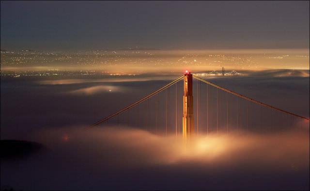 סן פרנסיסקו בערפל