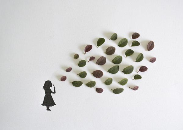 אומנות ייחודית מעלים וצמר גפן