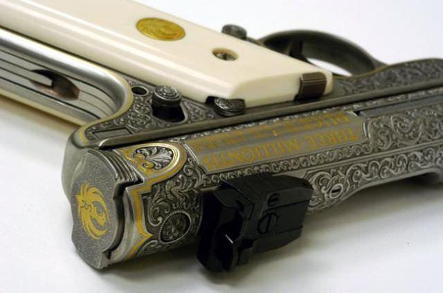 כלי נשק שהפכו ליצירות אמנות