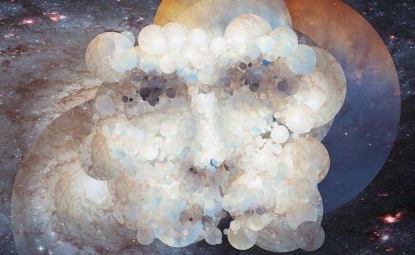 אמנות מתמונות של טלסקופ