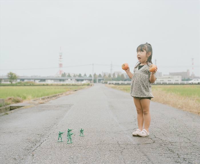 ילדה עם אבא יצירתי במיוחד באוסף תמונות מדהים