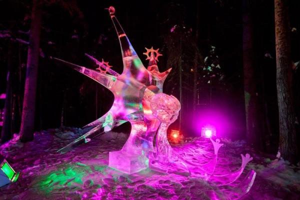 פסטיבל פסלי קרח