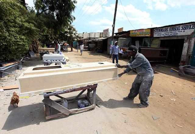 תעשיית הקבורה באפריקה