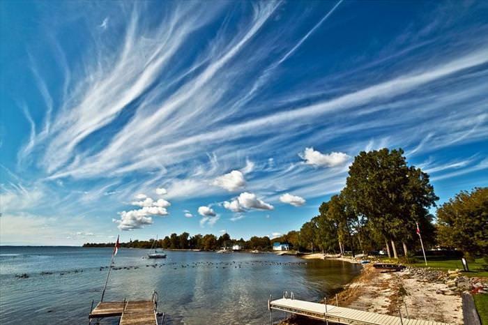 השמיים כמשיכת מכחול - סדרת תמונות יוצאת דופן!