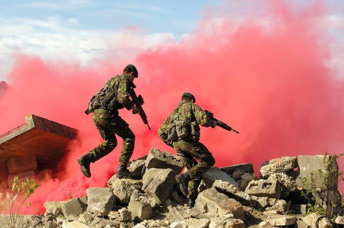 עיירת אימון צבא בריטניה