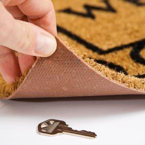 איך להחביא מפתח