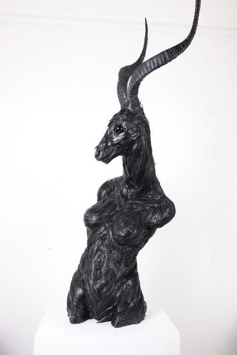 פסלי צמיגים ידידותיים לסביבה