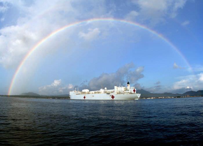 חסד על המים - ספינת בית החולים האמריקנית