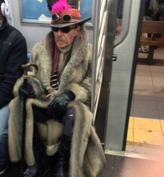 מוזרים בתחבורה הציבורית