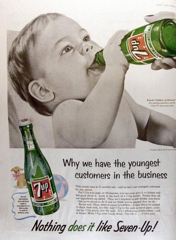 פרסומות פוגעניות מהעבר