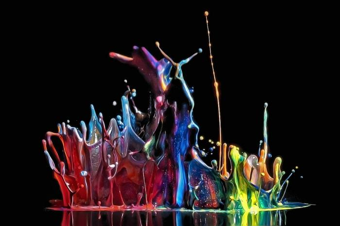 טיפות צבע
