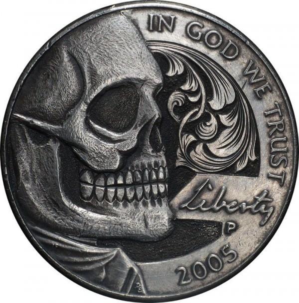 אמנות מדהימה במטבעות