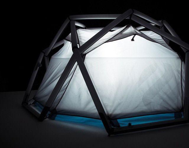 עם אוהלים כאלה, תרצו לבלות יותר בחיק הטבע מאשר בבית