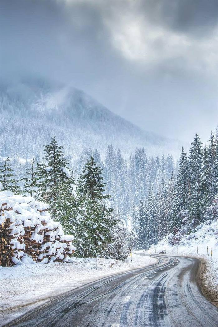 תמונות מדהימות של שלג