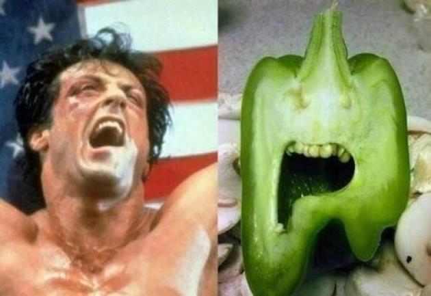 ירקות מחופשים