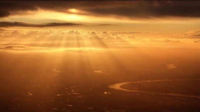 תמונות מדהימות מחלונות של מטוסים